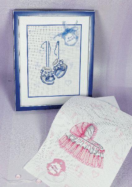 Открытки схемы вышивок новорожденным