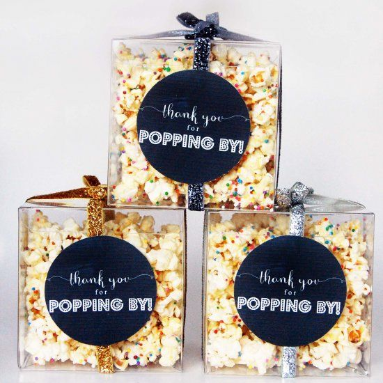 Head over to the blog for this easy recipe for party popcorn, plus a free printable thank you tag for making super cute favours!
