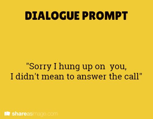 how to show dialogue in writing