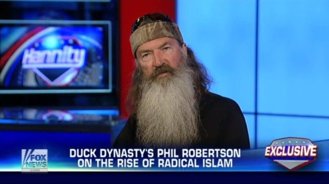 Phil Robertson's Plan For Combating ISIS: 'Convert Them Or Kill Them'