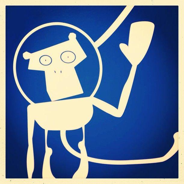 By: @Nicolas Iannone - #happymonkey #art #oslo #comfortgrandcentral