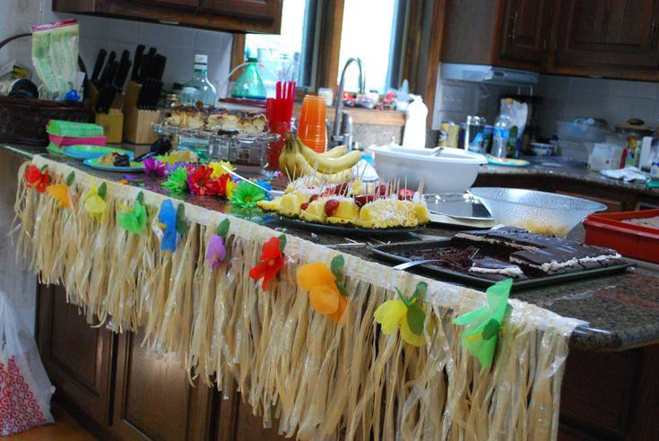 bridal shower hawaiian theme | Hawaiian Bridal Shower