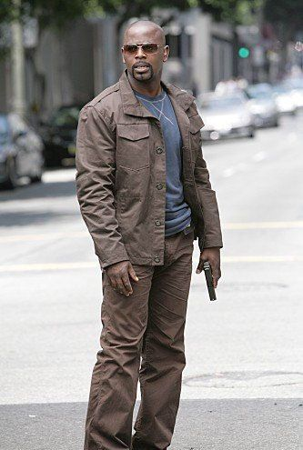 Alimi Ballard, FBI agent on Numb3rs