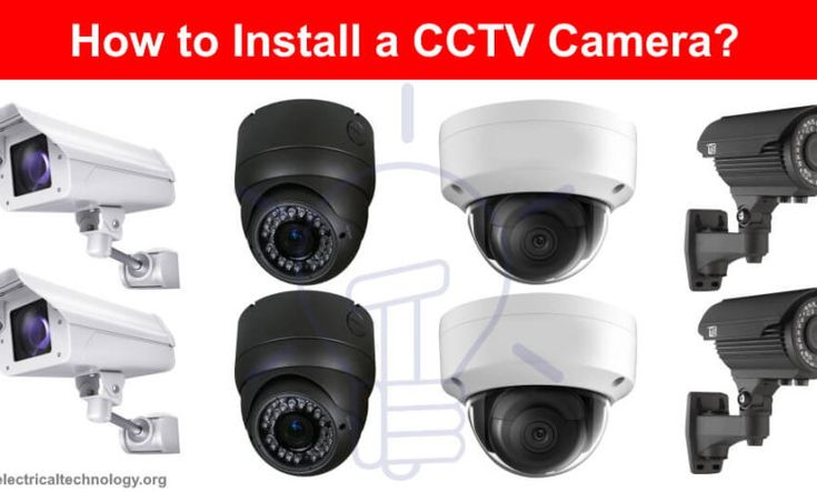 How To Install A Cctv Camera Cctv Camera Installation With Dvr Cctv Camera Cctv Camera Installation Installation