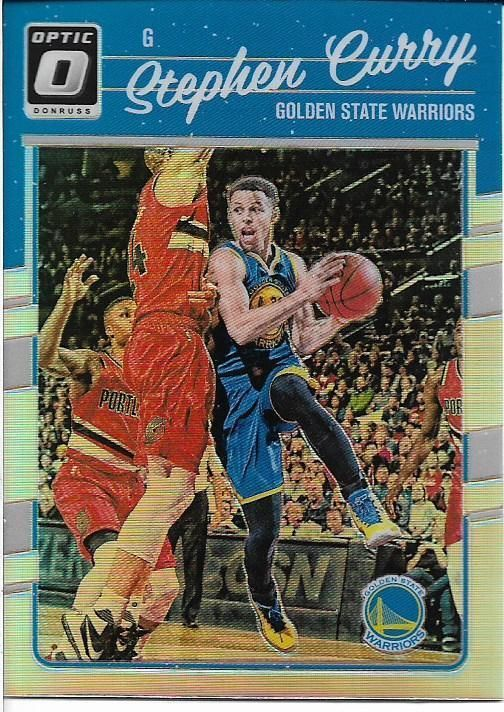 2016-17 OPTIC SILVER HOLO #135 STEPHEN CURRY WARRIORS FREE SHIPPING #GoldenStateWarriors