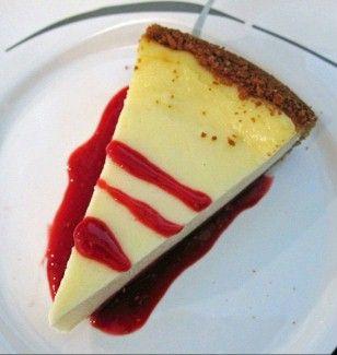 Sandras New York Cheese Cake mit Himbeer Soße Rezept