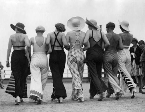Beachwear, 30s