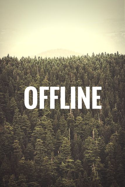 Offline.  To see more inspiring and positive words, click on this pic.