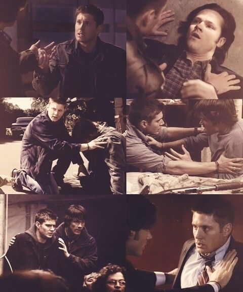 The Winchester boys fight for each other