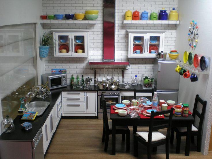 37 best Kitchen images on Pinterest Miniature kitchen Mini