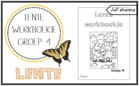 Lente werkboekje - jufshanna.nl