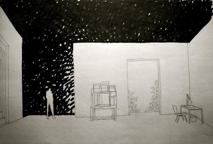 sketches for UK architects Mark Pimlott and Tony Fretton @ 12th annual Venice design thingy