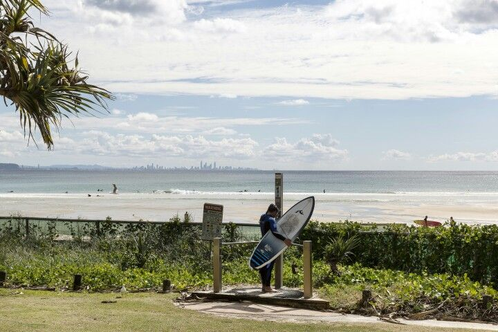 Gold Coast beach #surferslife #goldcoast #beach #surf #thisisqueensland #queensland #travel