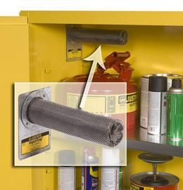 """2 1/4"""" X 8 3/4"""" VaporTrap™ Stainless Steel Activated Carbon Filter (For Safety Cabinets)"""