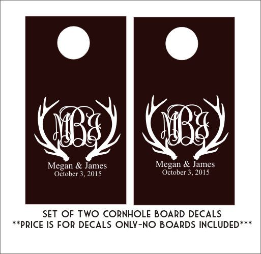 Best  Cornhole Decals Ideas On Pinterest Bean Bag Boards - Custom vinyl decals diy