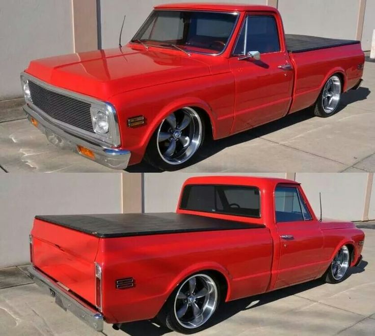 Classic Chevy truck. .