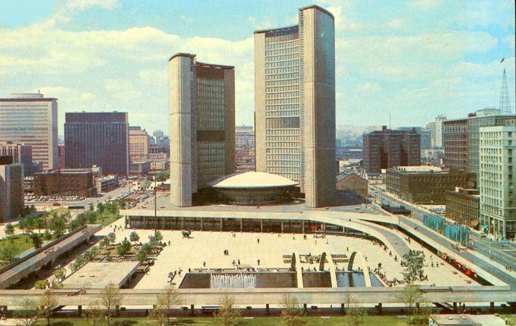 Viljo Revell, Toronto City Hall