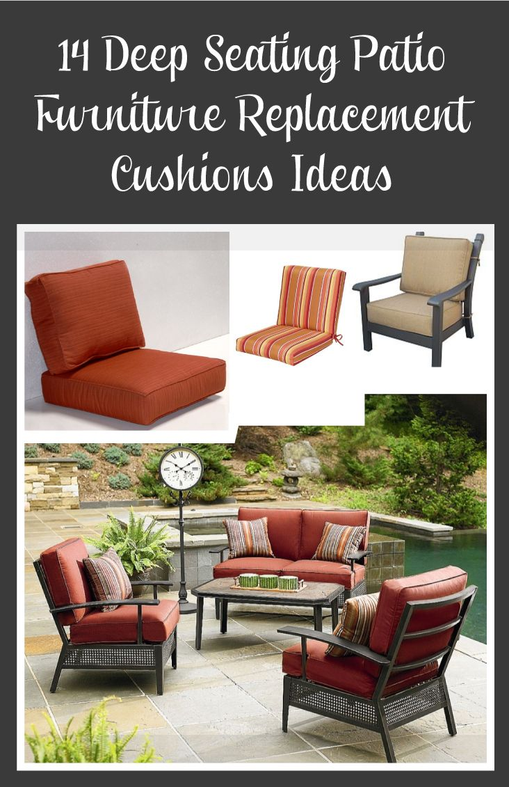 Deep Seating Patio Furniture Replacement Cushions Ideas This Best Picture Collections About Is