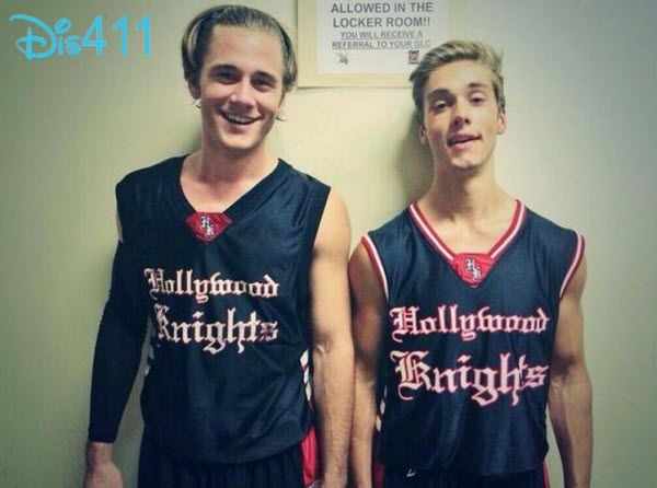 Video: Austin North, Jake Short, Luke Benward And More At Their Hollywood Knights Game April 17, 2014