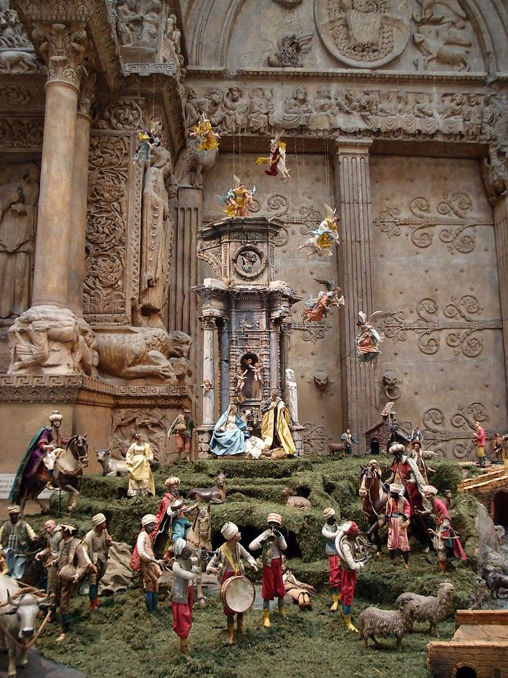 Carnegie Presepio - Nativity scene - Wikipedia, the free encyclopedia