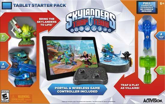Skylanders Trap Team Tablet Starter Pack. #Skylanders #TrapTeam #VideoGames