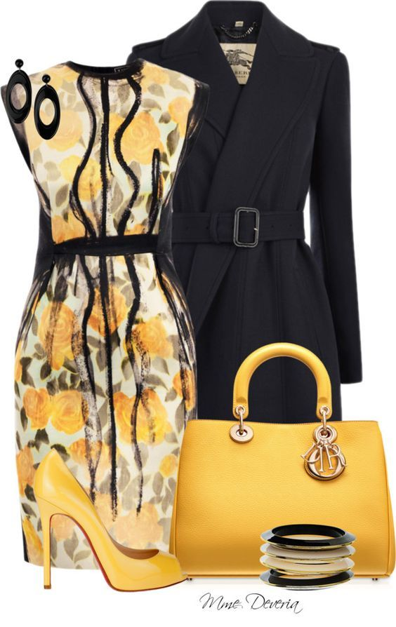 yellow dress over 40 your hired