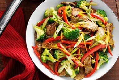 Beef with broccoli - Cultura/Brett Stevens/Collection Mix: Subjects/Getty Images - When I make this I'm going to add cilantro.
