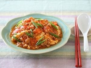 簡単15分レシピ トマトマーボー豆腐