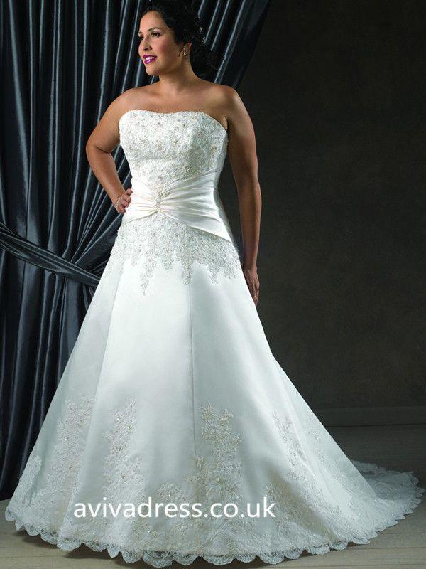 43 best Plus Size Wedding Dresses UK images on Pinterest   Wedding ...