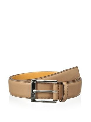 59% OFF Leone Braconi Men's Sauvage Bullskin Belt (Cognac)