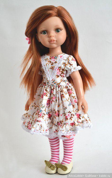 И снова, много платьиц на куколок от Паола Рейна / Одежда и обувь для кукол - своими руками и не только / Бэйбики. Куклы фото. Одежда для кукол