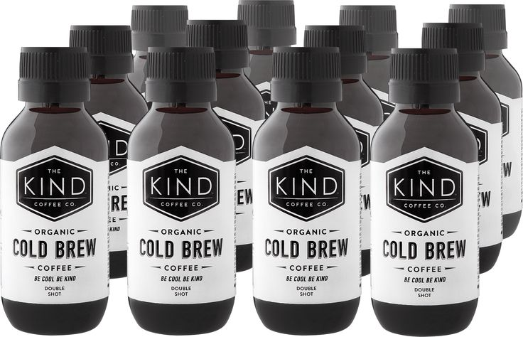 The Kind Coffee Co. Cold Brew............100% Organic Cold Brew Coffee Concentrate - made from fairtrade, organic beans.  Mix your cold brew with your favourite milk or mixer.  Cold Brew and almond milk, macadamia nut milk, cows milk, soda water or coconut water.  Delivered to you as a twin pack to ensure you get your coffee fix!  Keep refrigerated and it has a best before of 4 months!