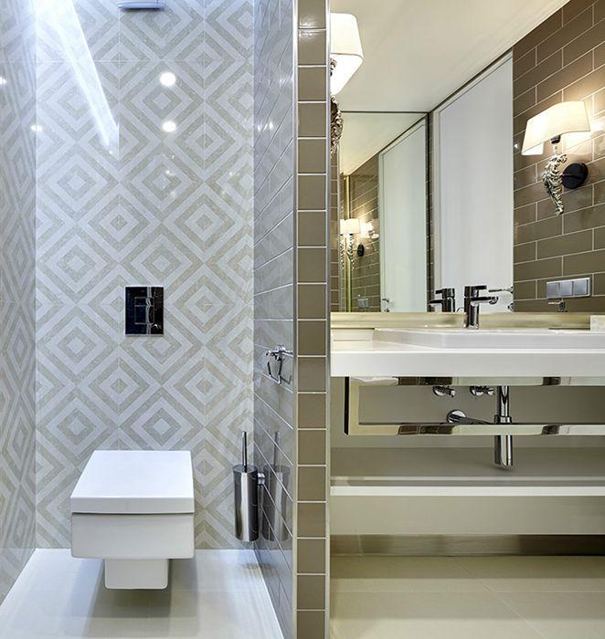 ванная: фото дизайна интерьера - автор TS-Design