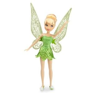 Tinkerbell My Wings Flutter Disney Fairies Her wings flutter when you push the button on her neck.