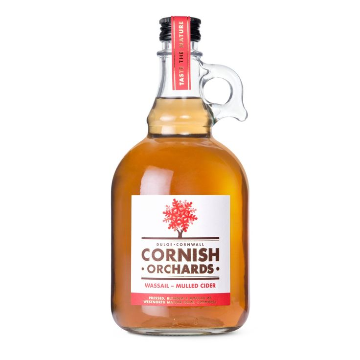 Wassail Mulled Cider 1ltr Flagon - Cornish Orchards