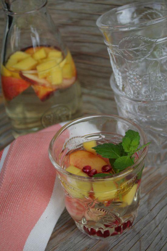 White Peach and Mango Sangria recipe