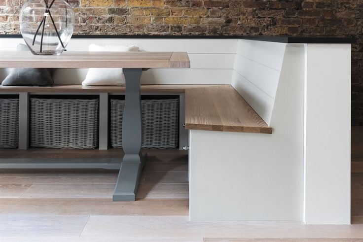 Neptune Dining Tables - Harrogate 170 - 260cm Rectangular Extending Table - Fog