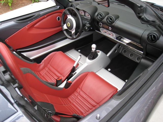 2006 Graphite Grey Elise Red Leather interior, Touring ...