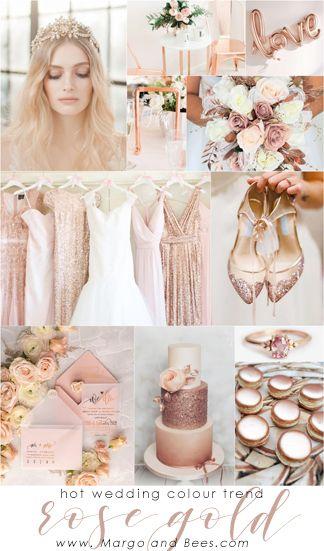 Hot wedding colour trend - #rosegold #rosegoldwedding #weddingtheme #weddinginspiration #rosegoldinvitations #rosegolddecorations #glamourwedding