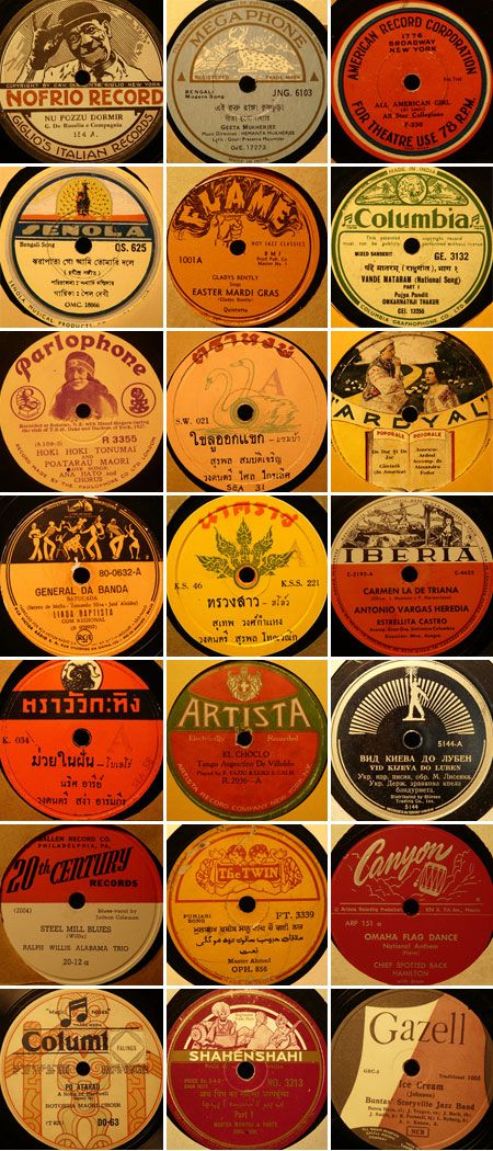 78 RPM Record Labels, part 3