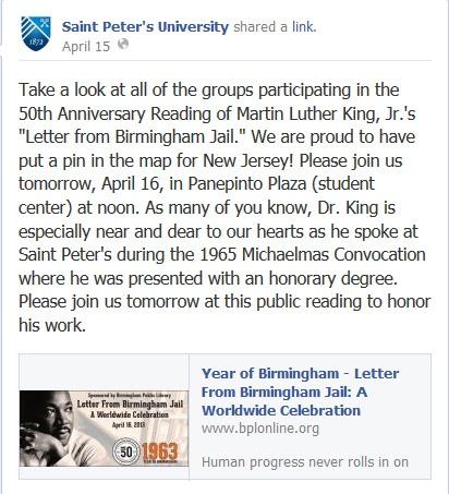 146 best Letter From Birmingham Jail A Worldwide Celebration - celebration letter