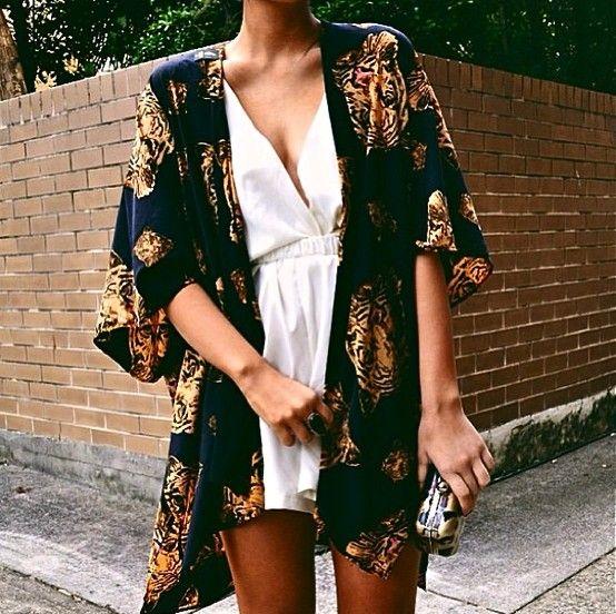 Kimono con Tigre - Hazte un kimono