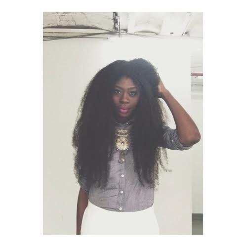 Long Natural Hair Styles