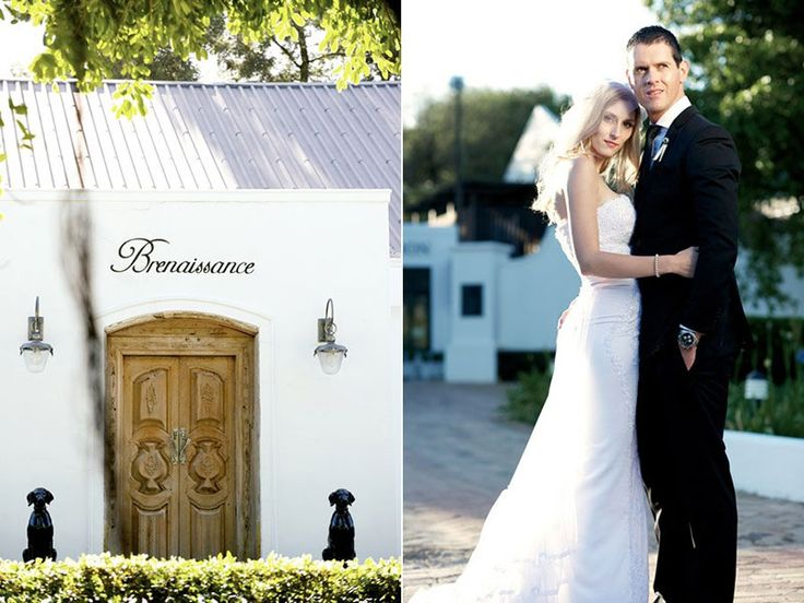 A fairytale wedding in the winelands