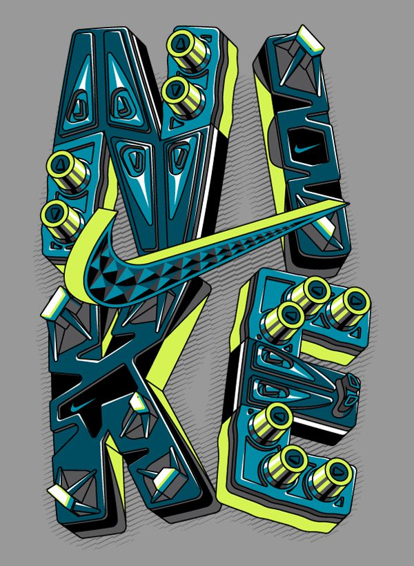 Following various NIKE T-Shirt Designs made for the 2013 Fall / Winter men's…