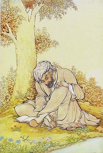 Hossein Behzad | Farid Al-Din Attar