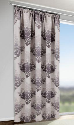 Verdunkelungsvorhang / Dim out mit Ornamenten-Muster•Gardinen Outlet
