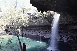 Hamilton Pool Preserve - great natural pool, nice hike... especially when Austin and the Hill Country has had some good rains.