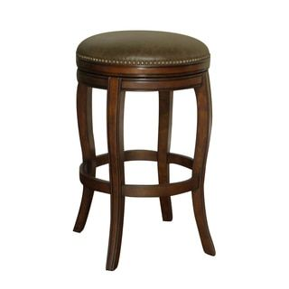 Shop for Wenden Tall 34-inch Brown Leather Swivel Bar Stool. Get free shipping at Overstock.com - Your Online Furniture Outlet Store! Get 5% in rewards with Club O!