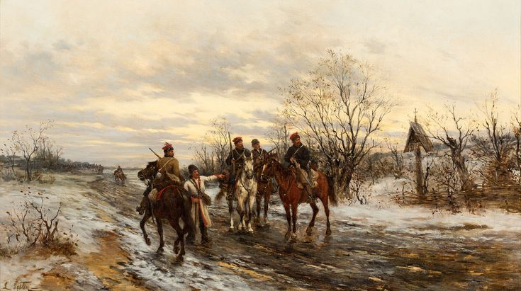 Ludwik Gędłek: Patrol powstańczy